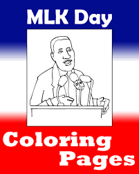 martin luther king coloring pages printable mlk day coloring pages primarygames play free online games