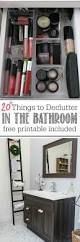Organizing Bathroom Ideas Best 25 Bathroom Declutter Ideas On Pinterest Bathroom Sink