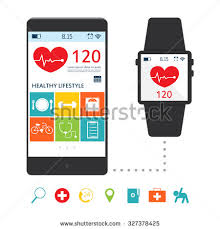 mobile application communication people character business stock