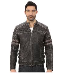 mens moto jacket affliction leather moto jacket in black for men lyst