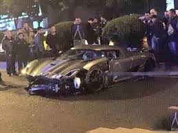 rare supercars rare koenigsegg agera r supercar crashes in china