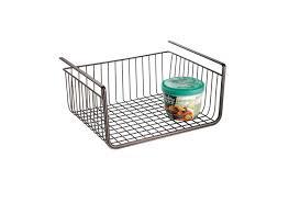 under cabinet storage bins under shelf storage organizer basket