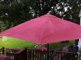 Paint Patio Umbrella We Painted A Patio Umbrella With Chalk Paint The Purple Painted