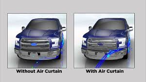 ford f 150 air curtains youtube