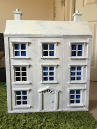 revamping an old doll house rhian gregory i painted the whole