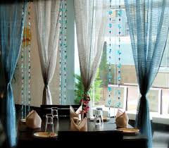 dining room curtains ideas hanging lamp vertical folding curtain