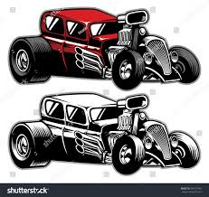 modified muscle cars modified classic car stock vector 294127061 shutterstock