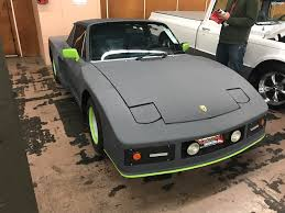 custom porsche 944 i saw this custom porsche at the car auction is it shitty enough