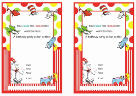 free printable dr seuss first birthday invitations u2013 bagvania free