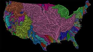 Usa River Map by River Maps Become Colorful Pieces Of Art Cnn Travel