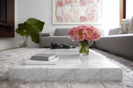marble coffee tables another 2017 home decor trend