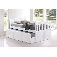 Childrens Trundle Beds Broyhill Kids Marco Island Twin Captain U0026apos S Bed With Trundle