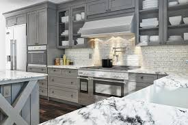 gray kitchen cabinets pre assembled u0026 ready to assemble rta