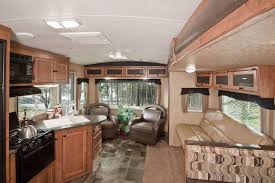 Camper Trailer Interior Ideas Travel Trailers Rv Business Part 4