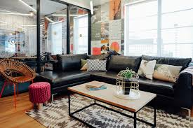 Office In The Living Room 10 Stylish Spaces Of The Wework Office In Miami Blogrope