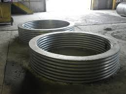 gas fire pit ring thick galvanized fire pit ring outdoor design ideas