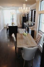 overstock dining room tables the salvaged wood dining table contemporary dining room with regard