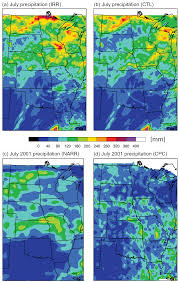 North America Precipitation Map by Climate Free Full Text The Effects Of Great Plains Irrigation
