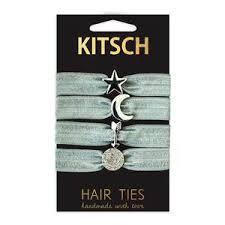 kitsch hair ties elastic hair ties by kitsch