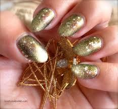 elegant ombre glitter nails sponge technique nail design love