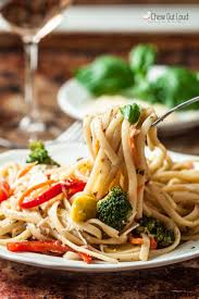 Light Summer Dinners Perfect Pasta Primavera Chew Out Loud