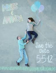 Creative Save The Dates Save The Dates Using Chalk 001 Weddings By Lilly