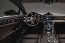 porsche panamera inside 2018 porsche panamera sport turismo a station wagon with the