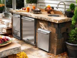 kitchen diy outdoor kitchens with natural stones kitchen set with