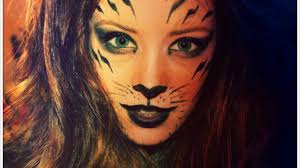 lion halloween costume tiger makeup in pictures halloween pinterest tiger makeup