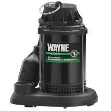 Home Depot Water Pump Wayne 1 3 Hp Thermoplastic Sump Pump Spt33 The Home Depot