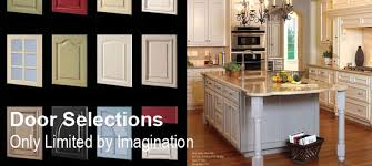 kitchen cabinet doors only cabinet refacing door selections