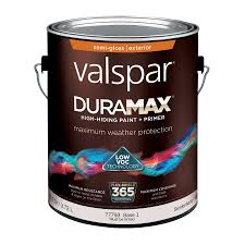 shop valspar duramax semi gloss latex exterior paint actual net