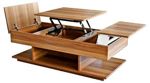 unique mechanism of coffee table in modern metal coffee table with