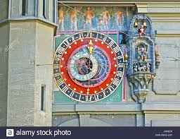 the city symbol of bern the astronomical clock on zytglogge