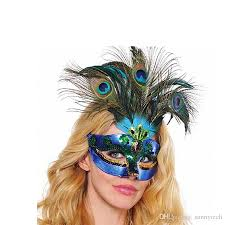 peacock masquerade mask new women peacock feather mask costume prom