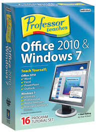 amazon com professor teaches office 2010 and windows 7