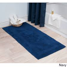 Reversible Bath Rugs Home 100 Percent Cotton Reversible Bath Mat Runner 24 X