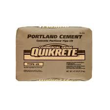quikrete 47 lb portland cement 112447 the home depot