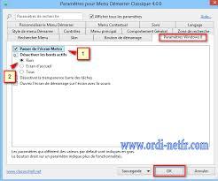 bureau windows 7 sur windows 8 1 shell 4 3 1 fr permet de retrouvez le menu démarrer dans