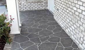 Can You Tile Over Concrete Patio by Good Porch Flooring Ideas