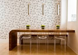Clear Dining Room Table Clear Dining Chairs With Wood Table Dining Room Industrial With