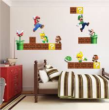 Super Mario Home Decor Super Mario Bros Wall Photo Pic Super Mario Wall Decals Home