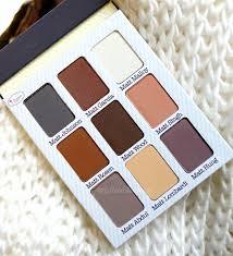 thebalm meet matt e eye shadow palette review