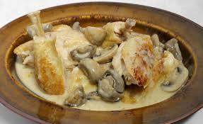 recette de cuisine poulet poulet à la cancoillotte par alain ducasse