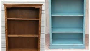 distressed off white bookshelf before u0026 after facelift furniture