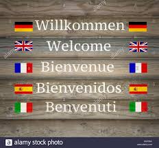 Welcome Flag Welcome Flags Stock Photos U0026 Welcome Flags Stock Images Alamy