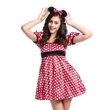 Halloween Costume Polka Dot Dress Halloween Costumes Women Minnie Promotion Shop Promotional