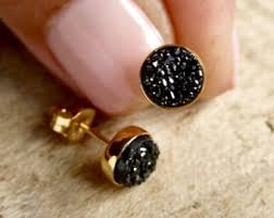 druzy stud earrings view earrings druzy studs by julianneblumlo on etsy