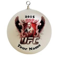 ufc christmas ornament custom gift 1