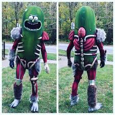 incredible pickle rick halloween costume rickandmorty